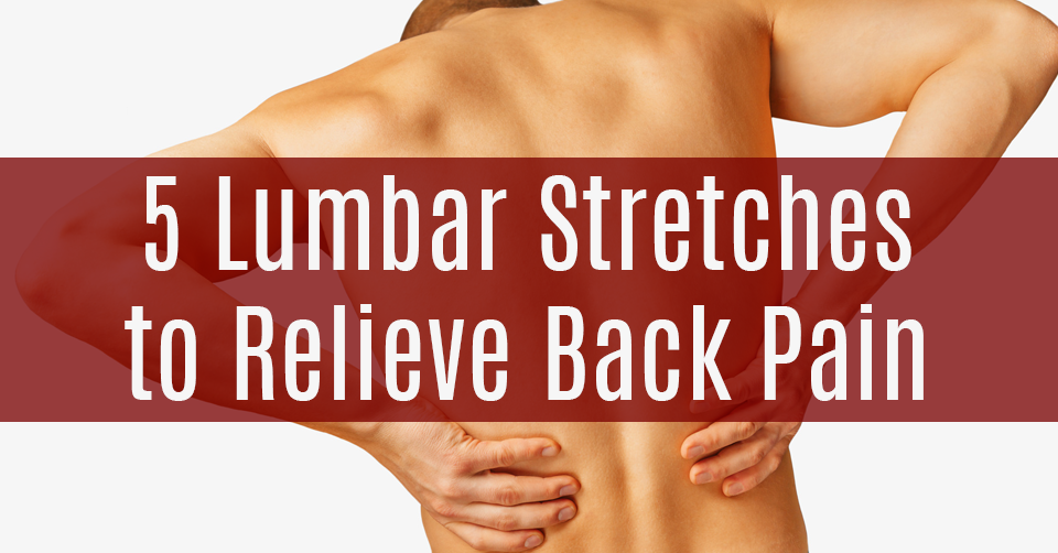 stretches to help relieve back pain