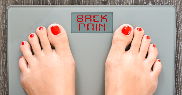 weight gain and back pain