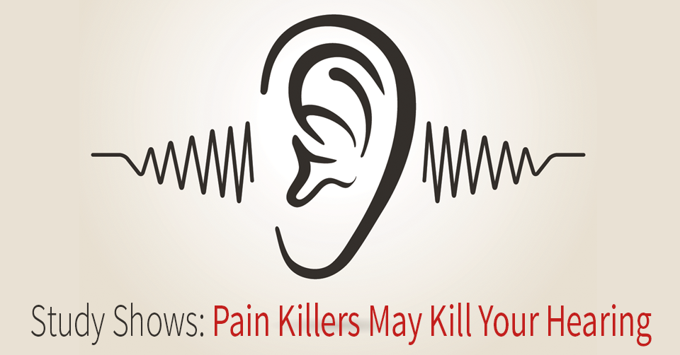 hearing loss and pain killers for back pain
