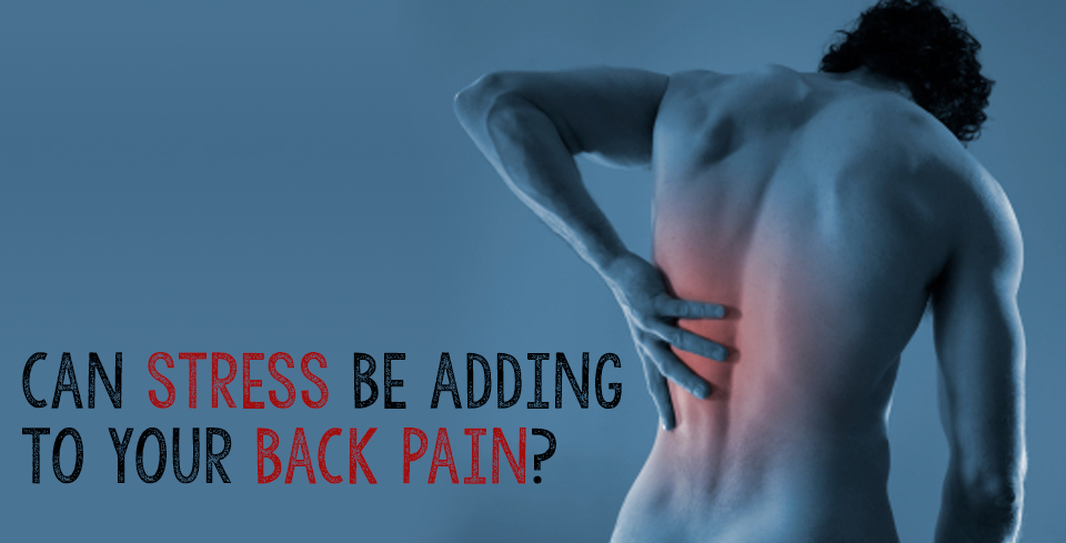 can stress cause back pain