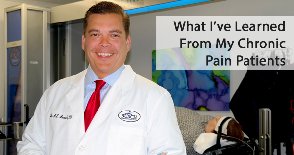 what I learned from treating back pain patients